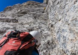 Alpin-Klettertour: Südverschneidung am Admonter Kalbling (Gesäuse)